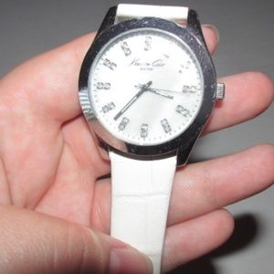 kenneth cole white watch